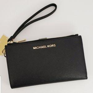 Michael Kors Large Double Zip Wristlet Wal…